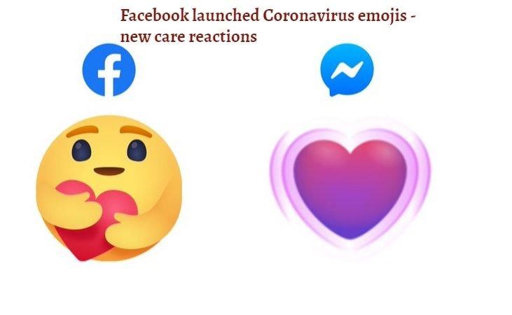 Facebook launched emojis of coronavirus