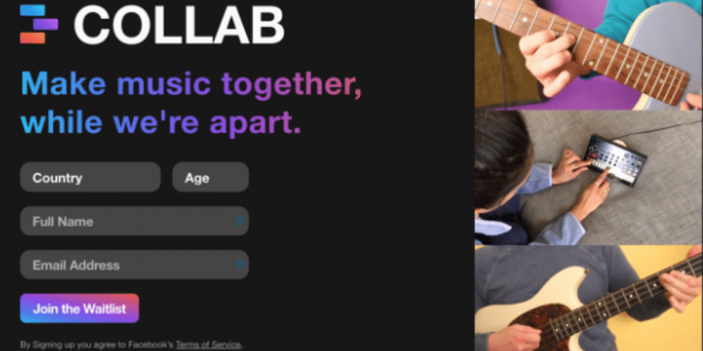 Facebook tests video-based music-making app 'Collab' for iOS users