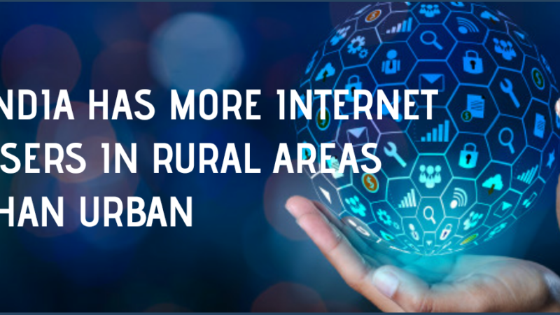 IAMAI report: For the first time, India has more internet users in rural areas than urban