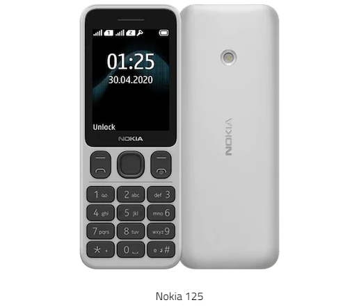 Nokia 125 feature phone launched: price and specifications