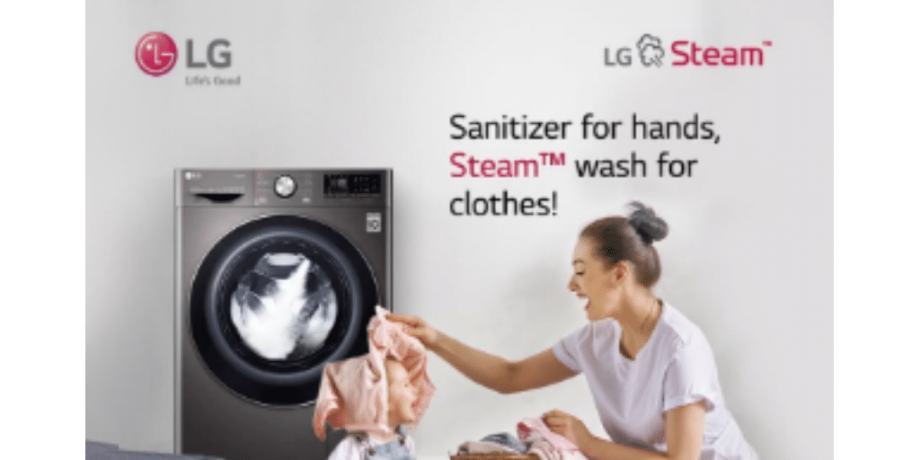 LG Front Load Washing Machines with Steam technology