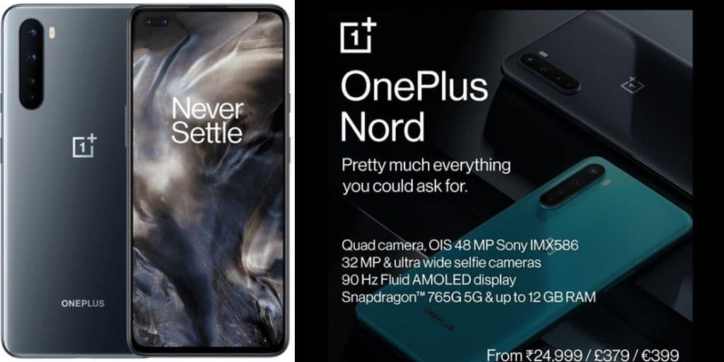 OnePlus Nord Price and Specification