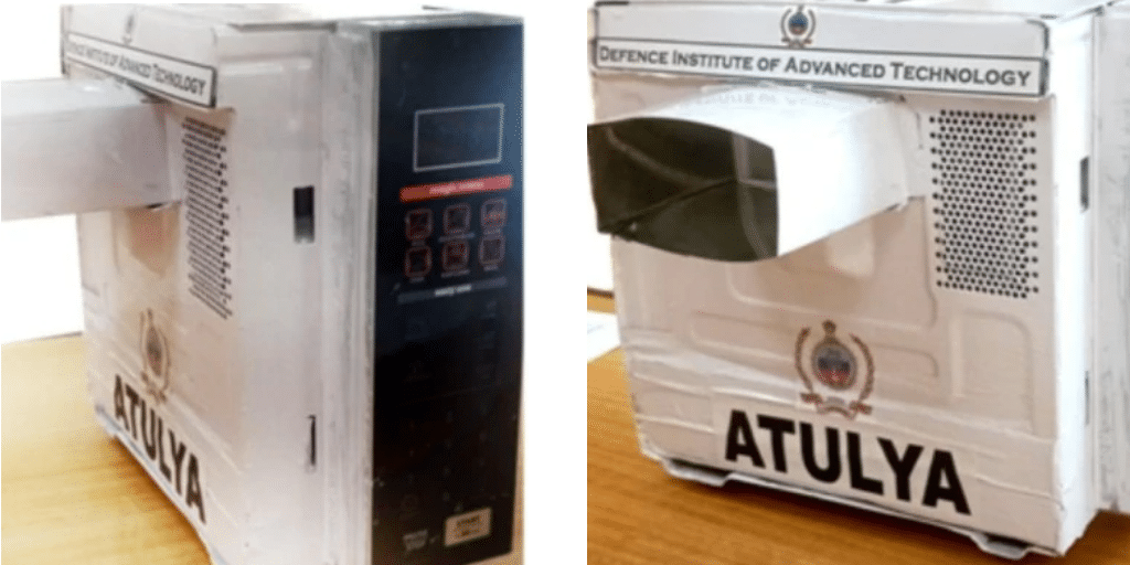 Pune-based institute develops 'Atulya' microwave steriliser to disintegrate novel coronavirus
