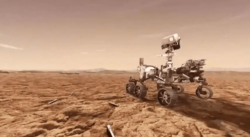 NASA's Perseverance rover successfully lands on the surface of Mars