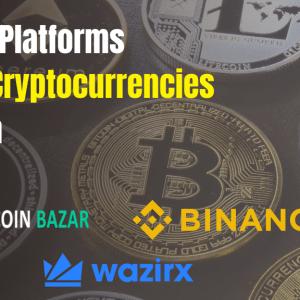 Best 10 Platforms to Buy Cryptocurrencies in India